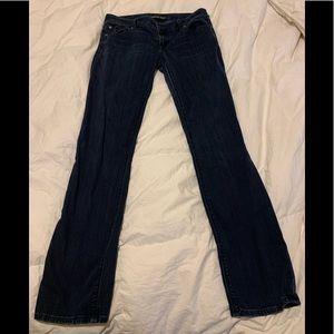 Express Stella skinny low rise jeans